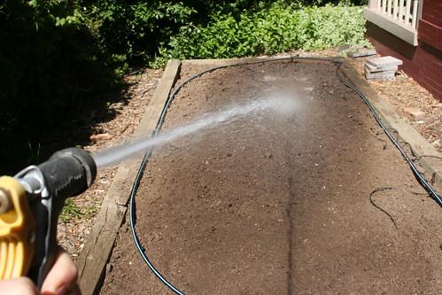 A Busted Sprinkler System