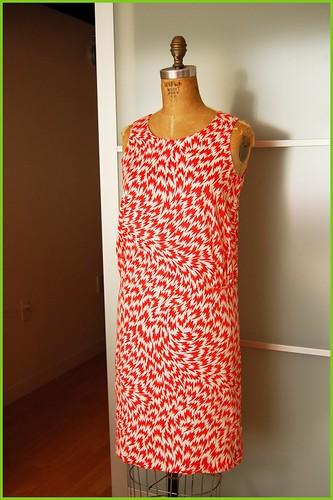 the thrifted eley kishimoto dress