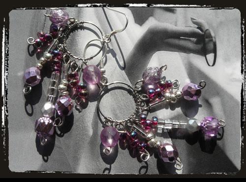 Orecchini unici - Unique earrings AMHCRG