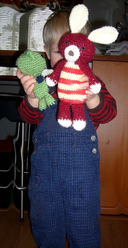 Niilo and his amigurumi