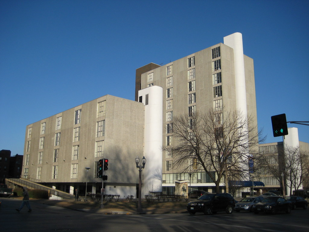 The San Luis Apartments, formerly DeVille Motor Hotel.  Photo by Architect Paul Hohmann.