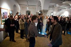 Exhibition of Bostjan Pucelj in Gallery Simulaker
