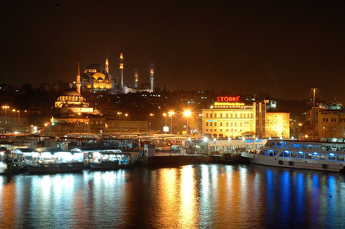 golden horn by photographer nezih.