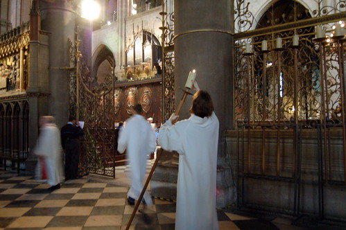 Notre Dame on Palm Sunday