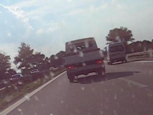 Nateldiebstahl auf der Autobahn