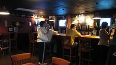 the bar at Horniblow's