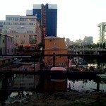 """Old houseboats, new condos <a style=""""margin-left:10px; font-size:0.8em;"""" href=""""http://www.flickr.com/photos/36521966868@N01/2009410346/"""" target=""""_blank"""">@flickr</a>"""