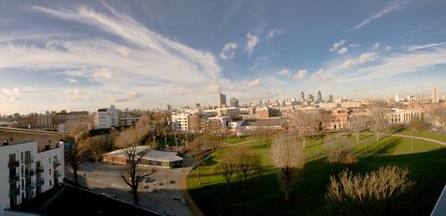 Penthouse View: Bermondsey Spa