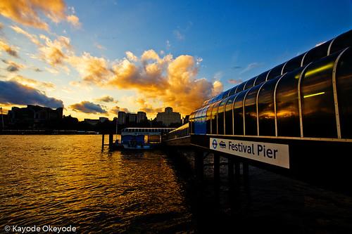 Festival Pier Sunset