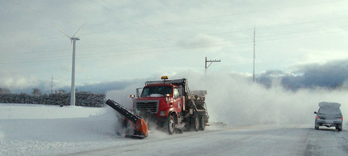 Heavy snow, shrinking budgets pinch snow plowing