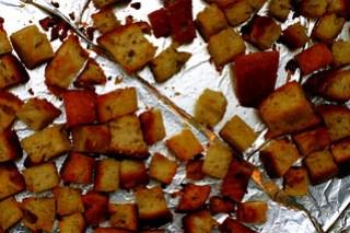 sourish croutons