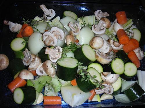 Making Veggie Stock