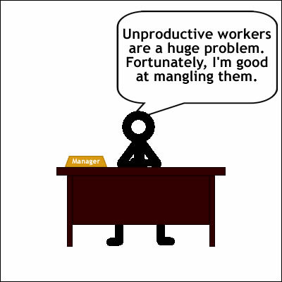 #17 Freudian Slip 1 - Managing workers
