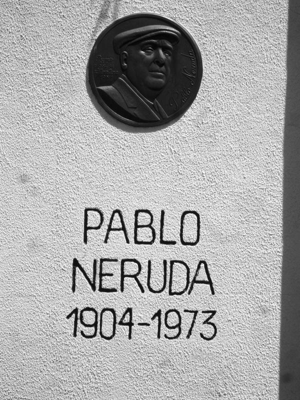 Pablo Neruda's Tombstone