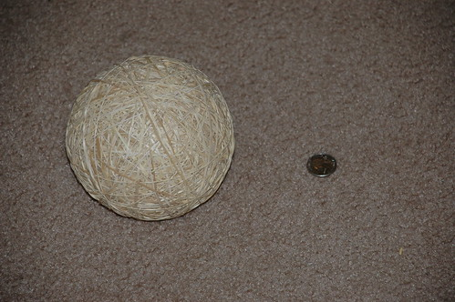 Giant Rubber-Band Ball