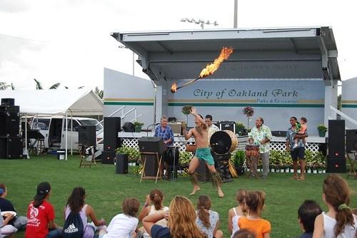 Polynesian Dancer