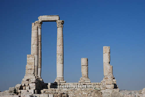 Amman - Pillars of the Temple of Hercules