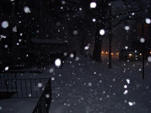 Beacon Street Snow