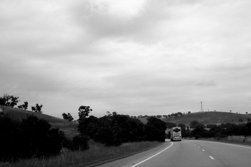 On the Hume highway