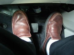 Driving Automatic with Both Feet