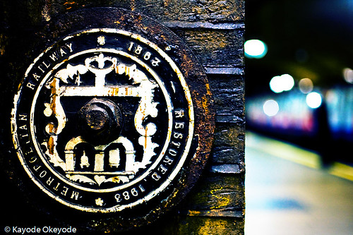 Baker Street Tube Station Sign