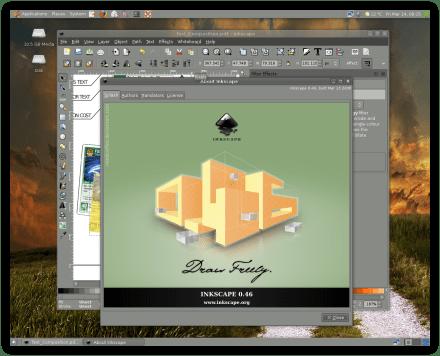 Inkscape v0.46 Final Version