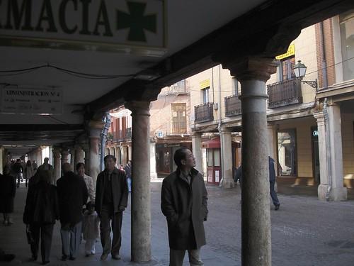 Calle Mayor en la actualidad