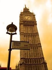 London Big Ben; Bridge Street
