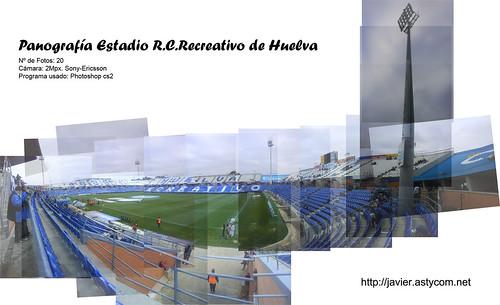Panografía Estadio Recre