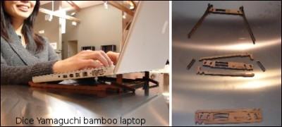 Dice Yamaguchi laptop-stand