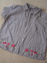 Mom's Shirt Before