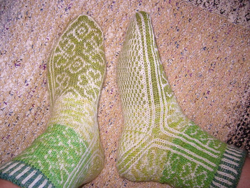 * Wow - these shamrock socks are teh awesome!!