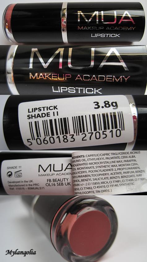 MUA Lipstick S11-1