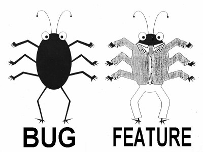 Our bugs are different!