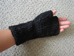 Mom's Fingerless Mittens