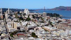 Iconic view from Coit Tower