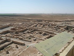 Some of ancient Beersheba's archeological ruins