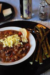 Cuban bean soup