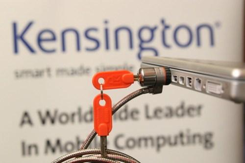 Kensington 白金級電腦防è·éŽ–.JPG