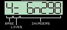 My Casio Calculator Invader Game (2/3)