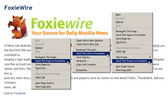 FoxieWire extension