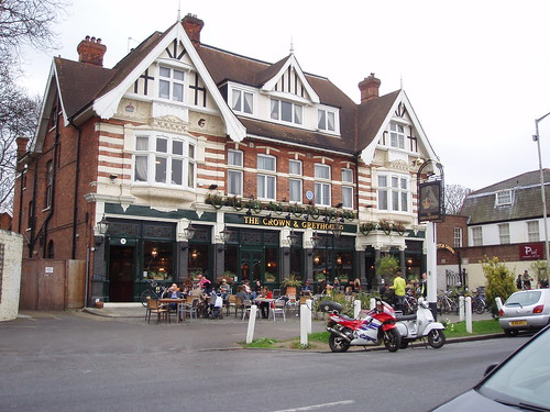 The Crown and Greyhound (Dulwich Village SE21)