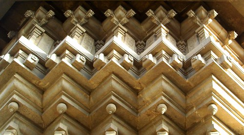 intricate architecture, and its not too old