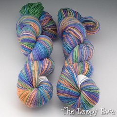 Seacoast Handpainted Superwash Lovebird