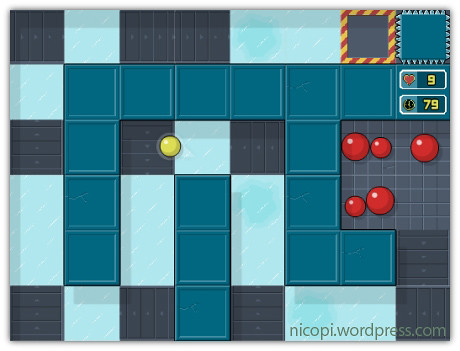 Roll flash game