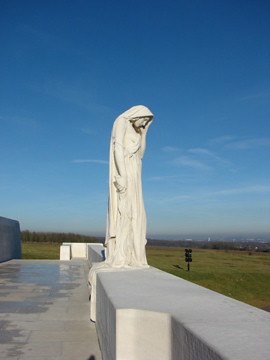 Mother Canada, Canadian Monument, Vimy France