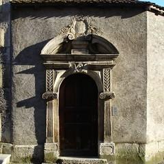 Eingangsportal eines Hauses