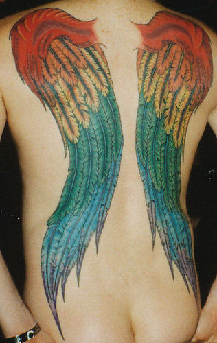 Back Tattoo - Wings