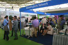 DME Amsterdam - stand of Marketingfacts Network
