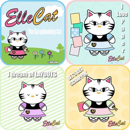 Elle Cat Collage